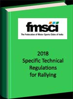 Technical Regulations Stage Rally