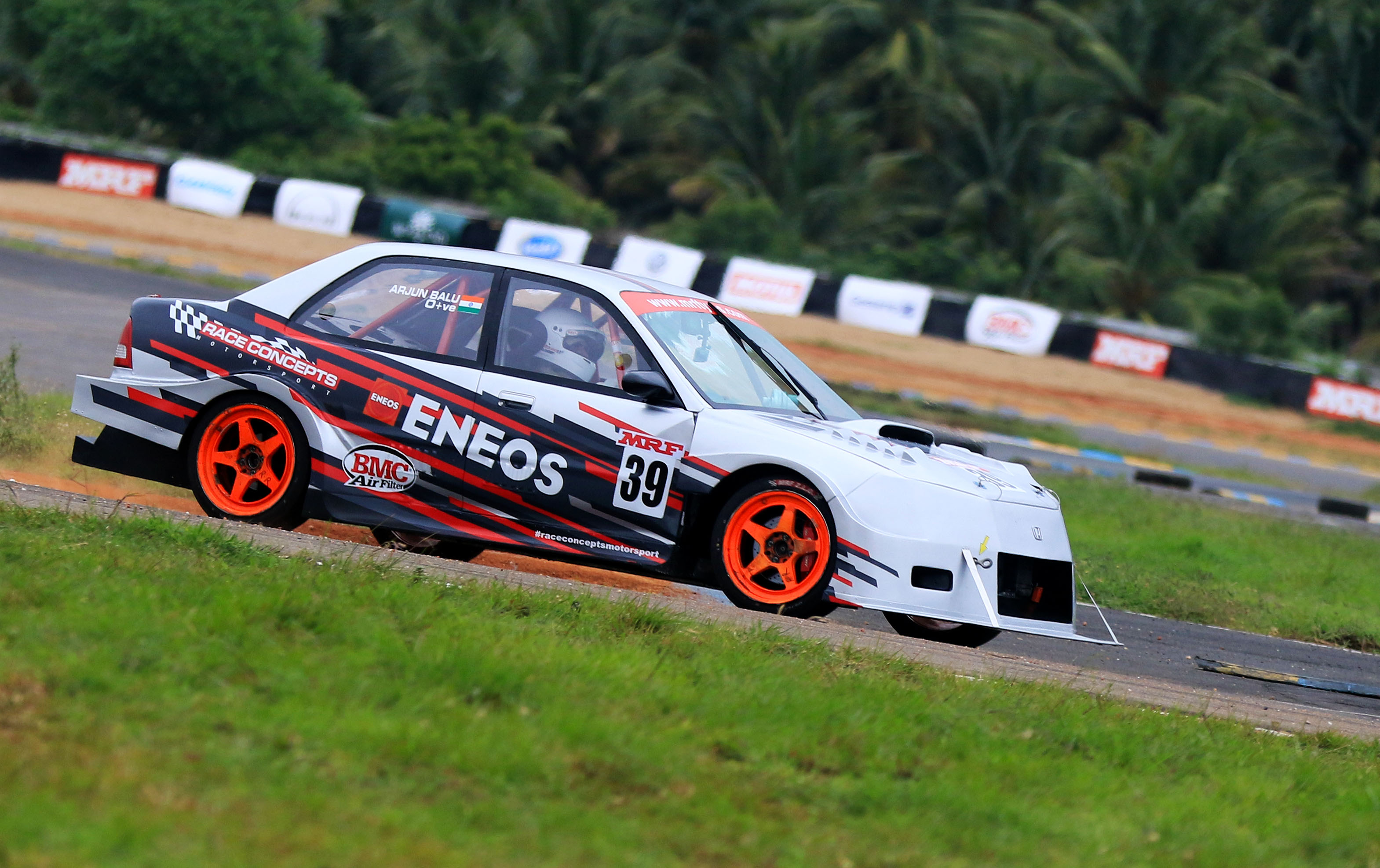 Arjun Balu, quickest in Indian Touring Cars category (June 22).JPG